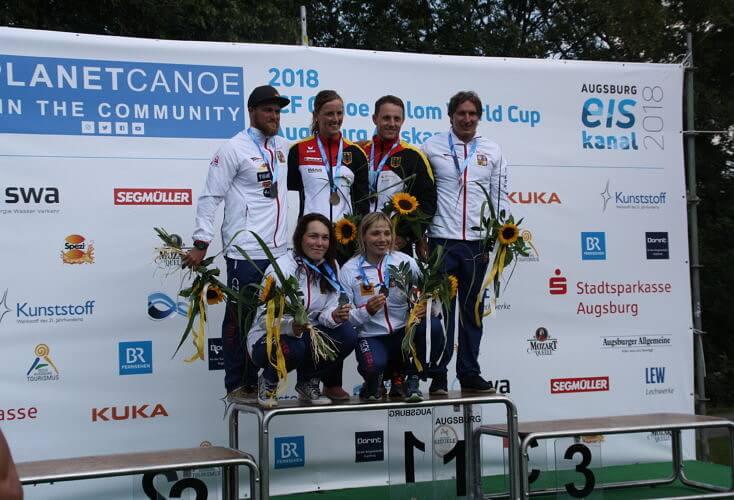 Bild zur News 3. Kanu-Slalom Weltcup in Augsburg