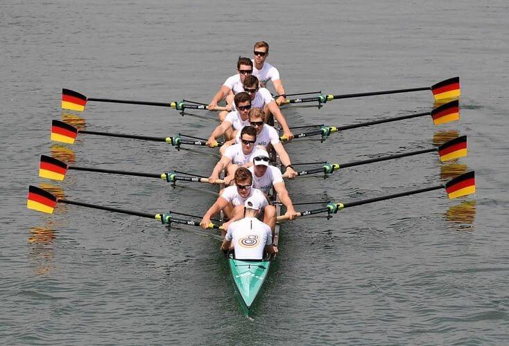 Bild zur News Rudern: Acht Weltmeister und ein Neuling an Bord des DRV-Flaggschiffs