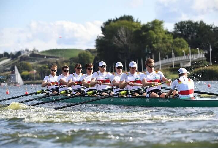 Bild zur News Rudern: 8 EM-Medaillen für deutsches Team, Deutschlandachter gewinnt Gold